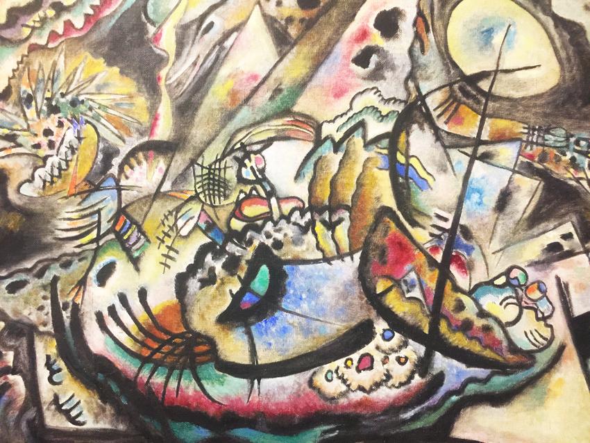 Kandinskij, il cavaliere errante