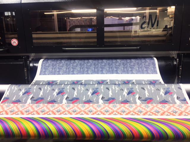 L'offerta per la stampa tessile a Fespa