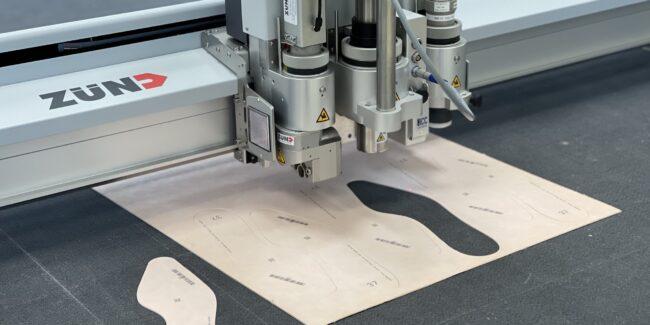 Marcatura digitalizzata di cartamodelli